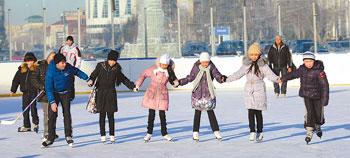 Astana on Ice: City Offers Winter Fun - The Astana Times