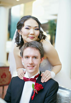 Newborn International Couple Thrives in Astana - The Astana Times