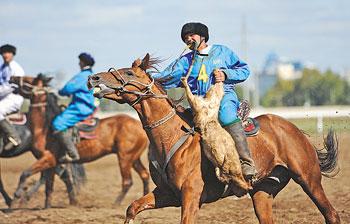 Kazakhstan Wins First Asian Kokpar Championship The