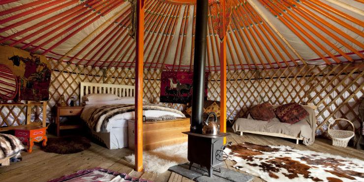 Event Celebrating Kazakh Mythology Introduces Yurt To