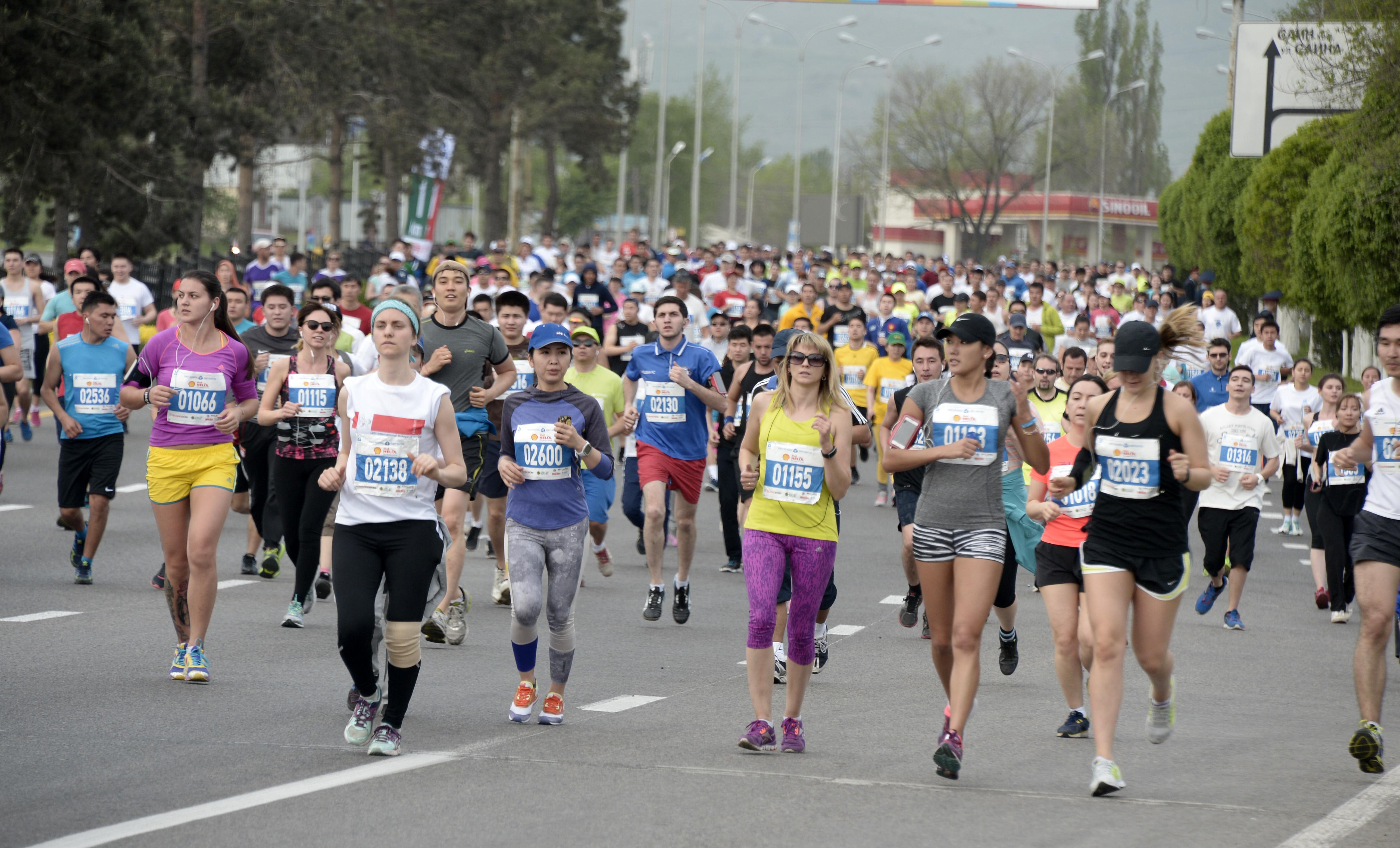 Almaty Marathon 2018