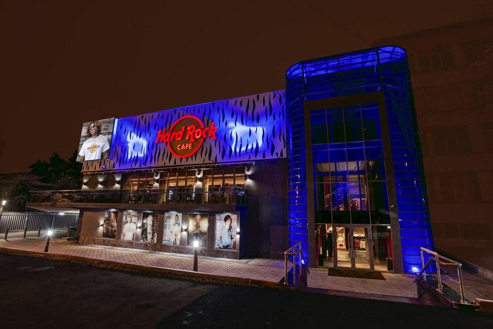 Hard rock cafe saint petersburg russia
