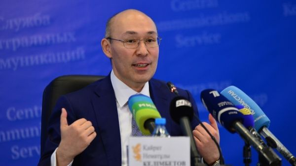 Chairman of the National Bank of Kazakhstan Kairat Kelimbetov