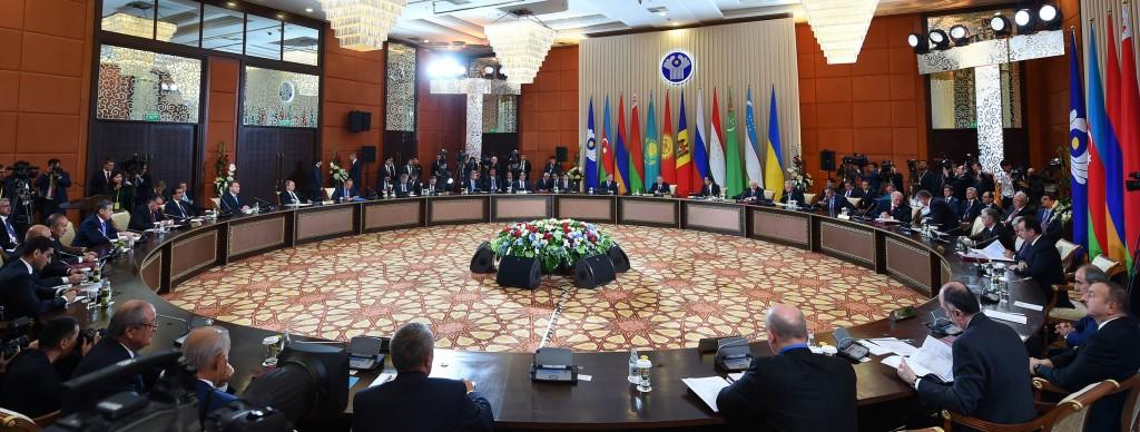The leaders of the CIS meet in Burabai. Photo: Akorda.kz