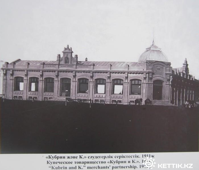 The Astana Supermarket building as it originally looked. Photo: Kettick.kz