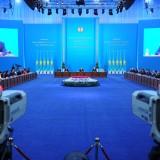 President of Kazakhstan Nursultan Nazarbayev gives his State of the Nation address Nov. 30.