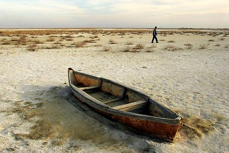 The Aral Sea. Photo credit: Reuters