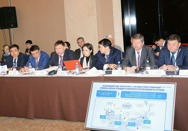 Joint session of Kazakhtelecom and Nur Otan's Economic Policy Council on Dec. 21. Photo credit: Kazakhtelecom's press service.