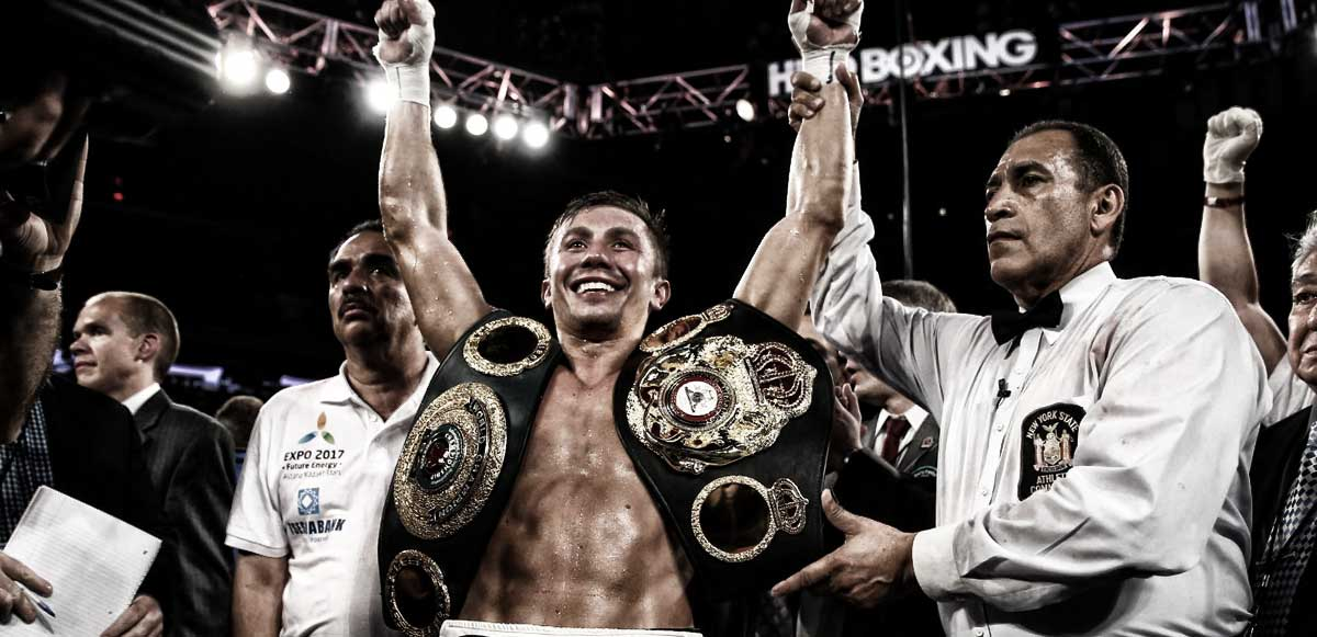 Wbc Names Gennady Golovkin Saul Canelo Alvarez Best Boxers Of 2015 on oscar de la hoya boxing camp
