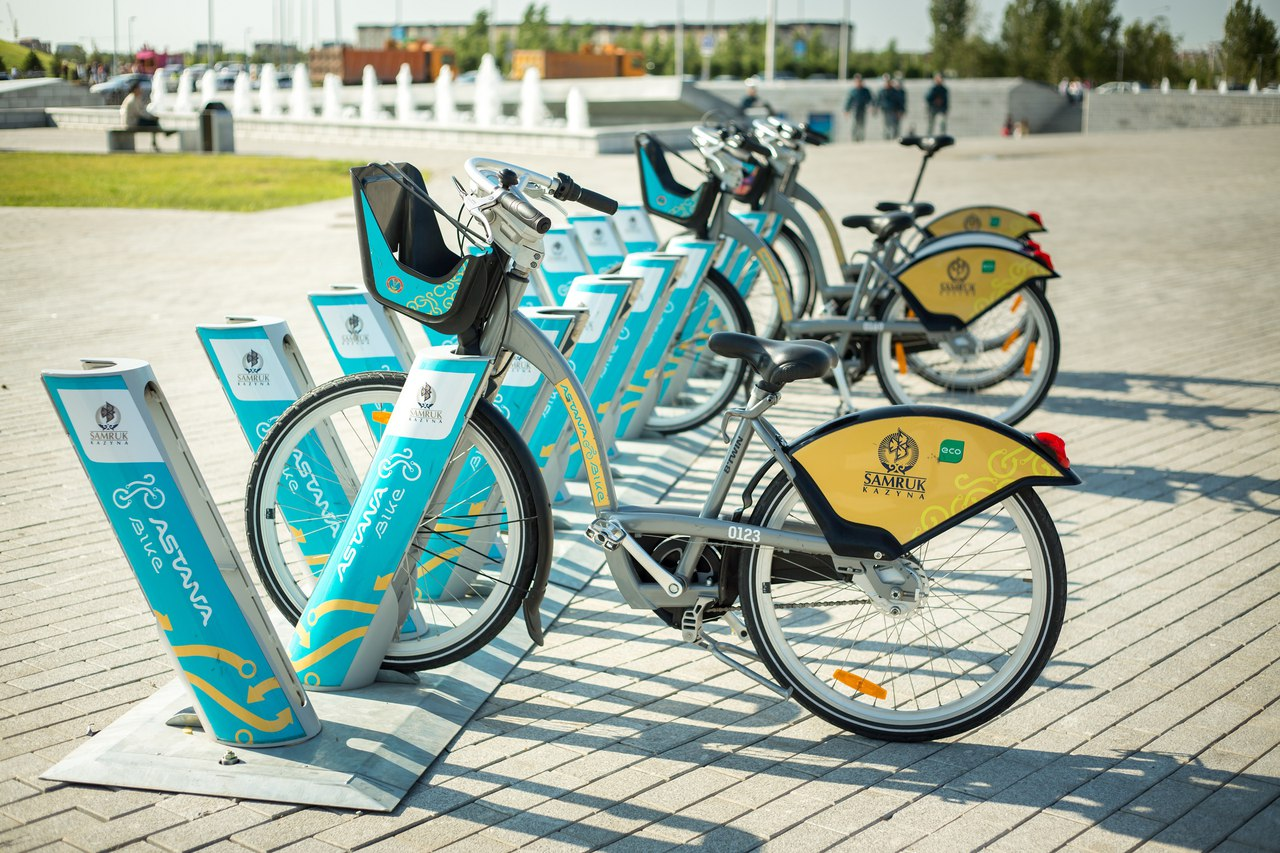 rental bike stations now operating around the city. Black Bedroom Furniture Sets. Home Design Ideas