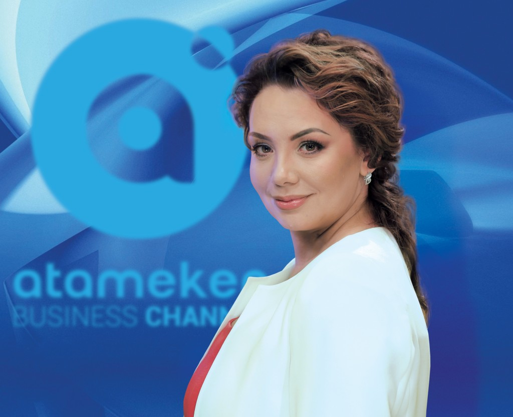 Yuliya Valiakhmetova, Atamaken Business Channel CEO