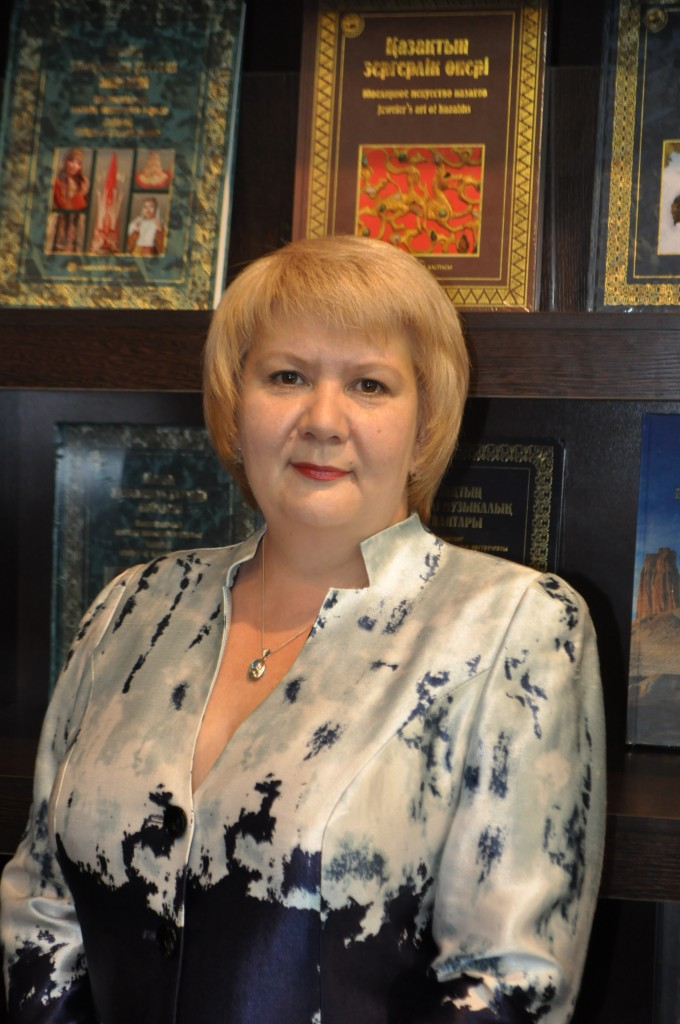 Anna Valentova, Meloman Astana Branch Office Director