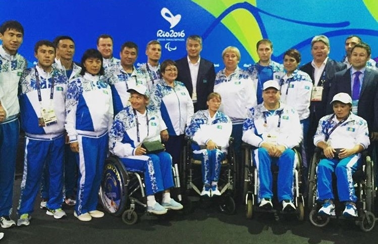 Kazakhstan Wins Two Medals in Rio Paralympics, Finishes 58th