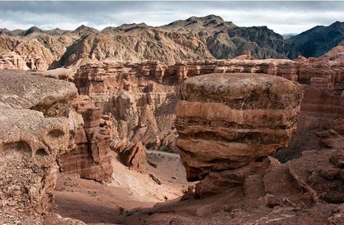 Charyn Canyon. Photo credit: 24.kz