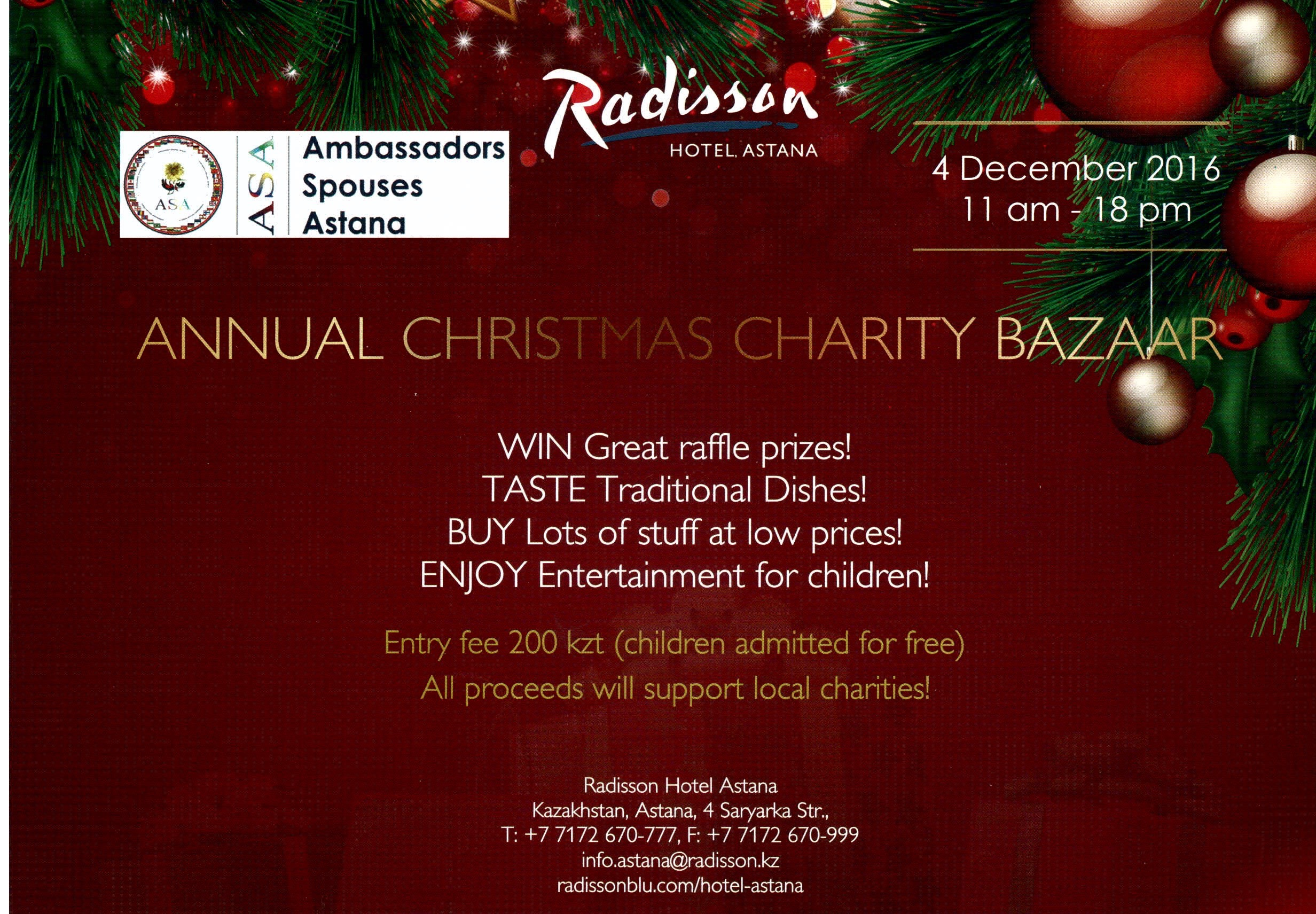 Charity Bazaar to Bring Hope and Magic to Christmas Season - The