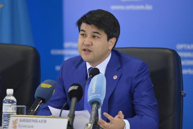 Minister of National Economy Kuandyk Bishimbayev. Photo credit: Kapital.kz
