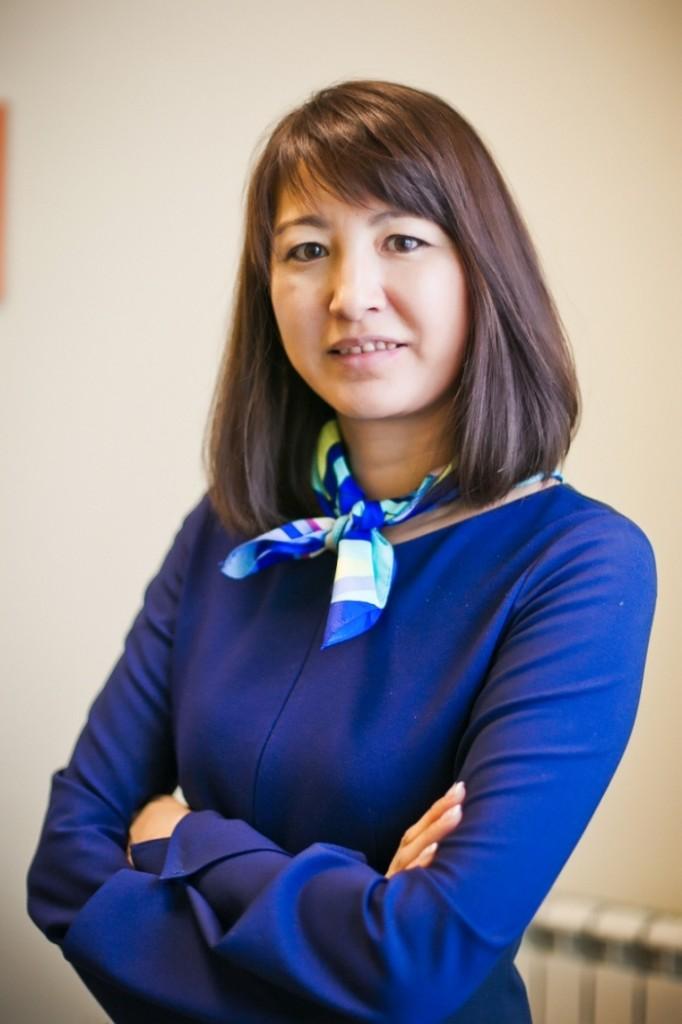 Director of the Fund Gulmira Abeldinova