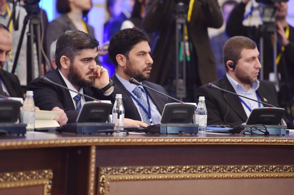 Representatives of Syrian opposition