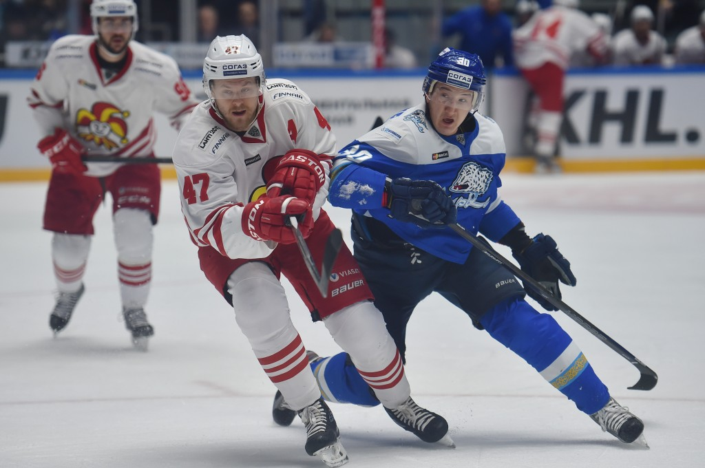 KHL: Barys Nears Securing Place In Gagarin Cup Playoffs
