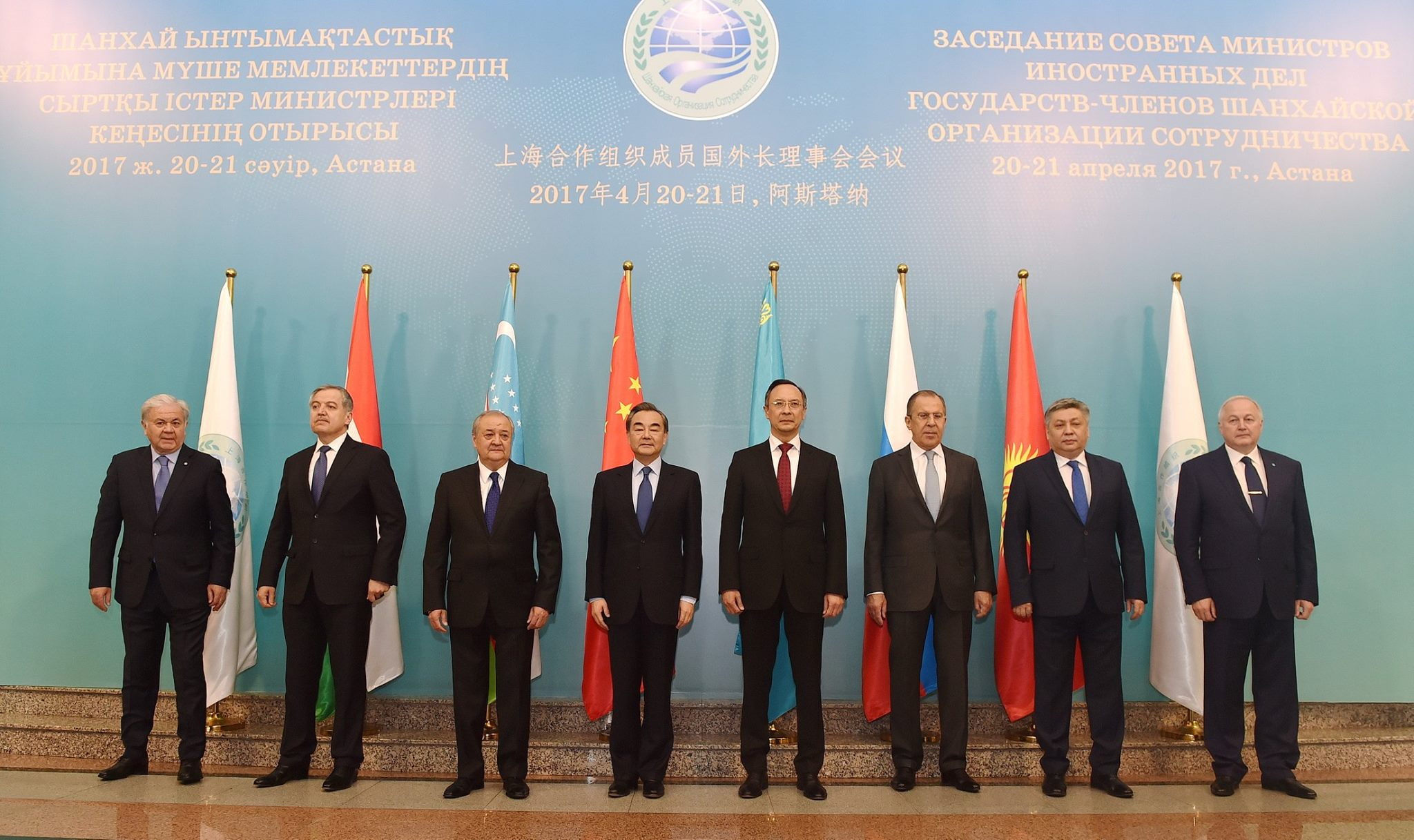 Kyrgyz FM takes part in SCO foreign minister's summit in Astana