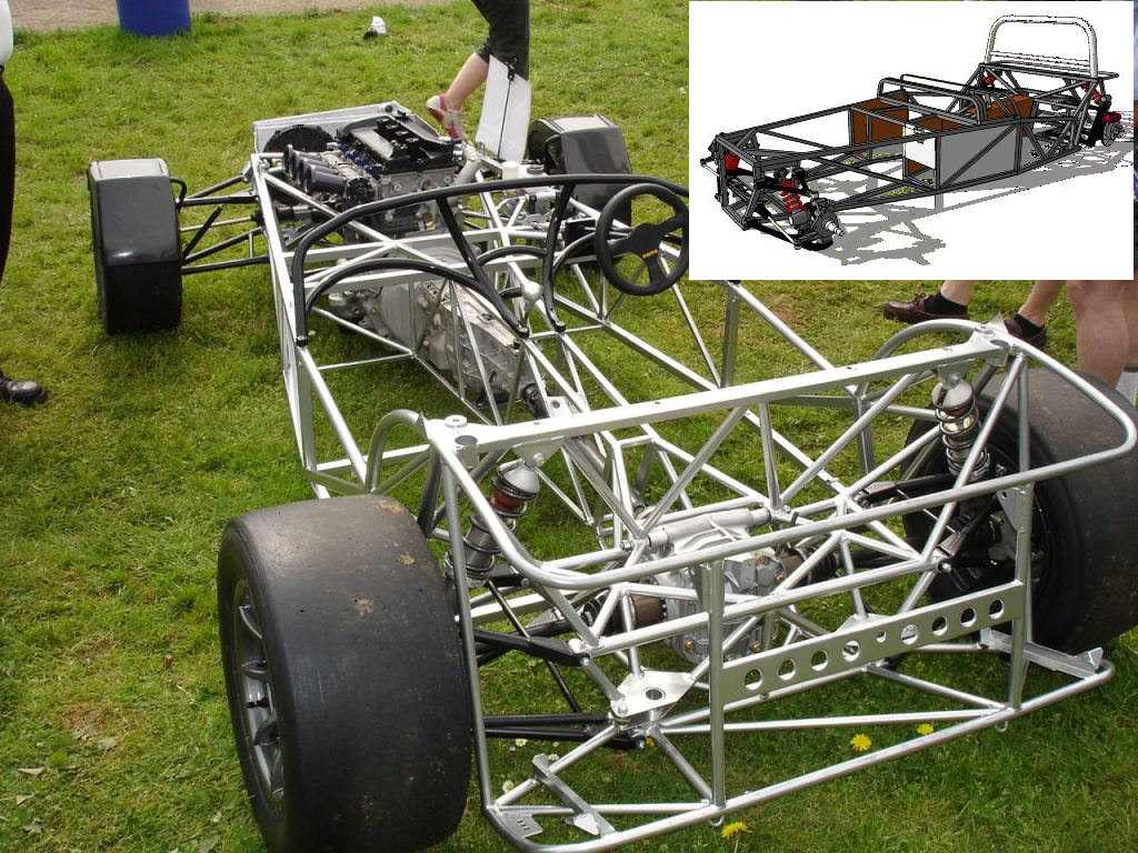 Race car enthusiast plans to construct Lotus Seven - The Astana Times