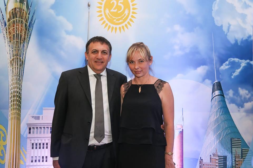 Gustavo Gutierrez and Irina Vagner.