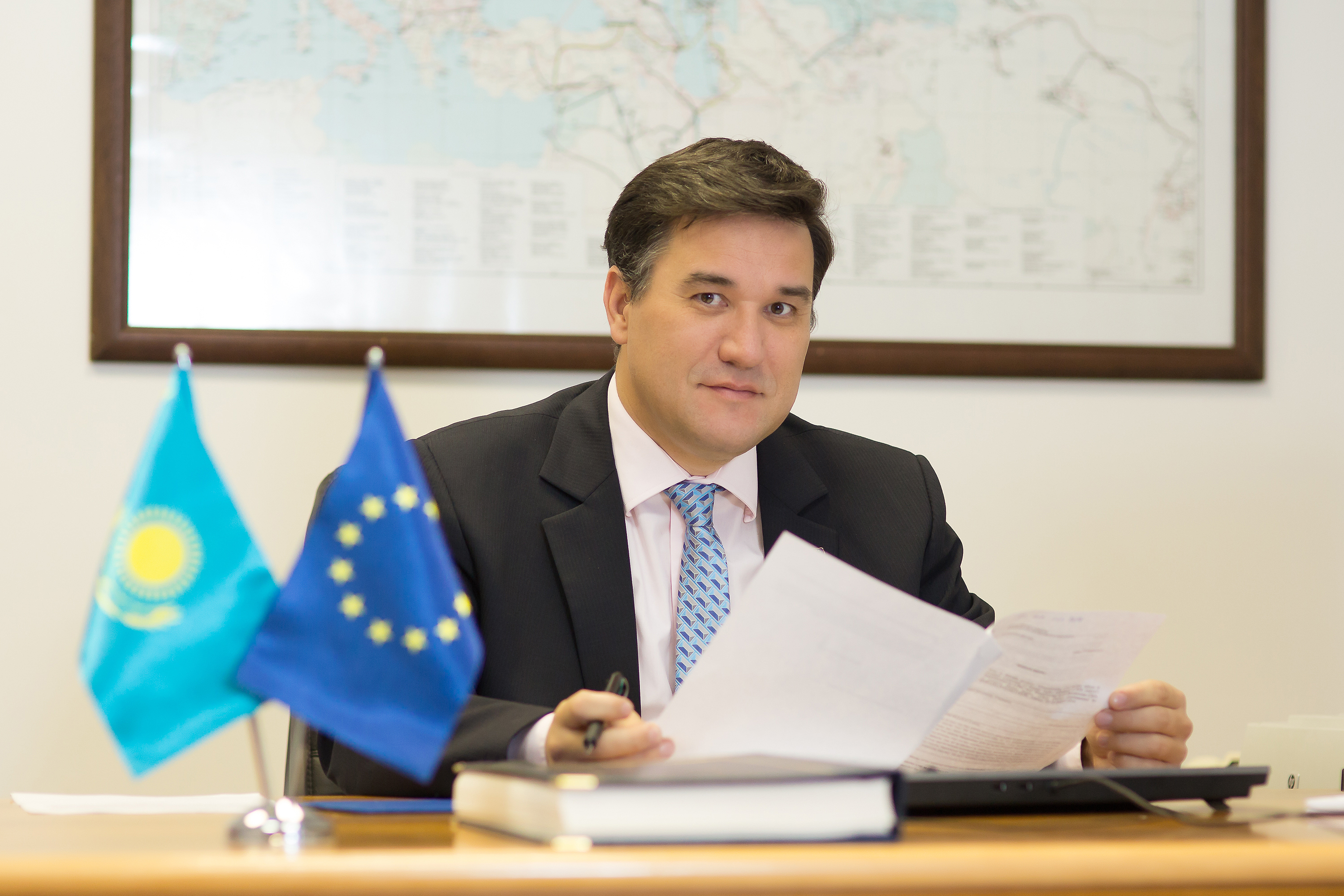 Eu Ambassador In Astana Talks About Rome Declaration Brexit And