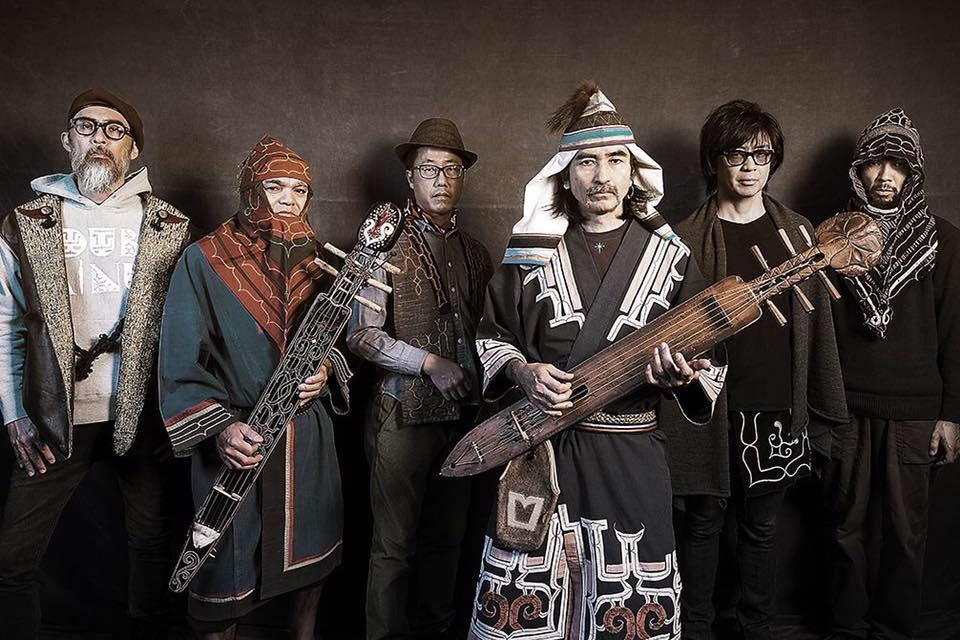 Oki Dub Ainu Band. Photo credit-Facebook