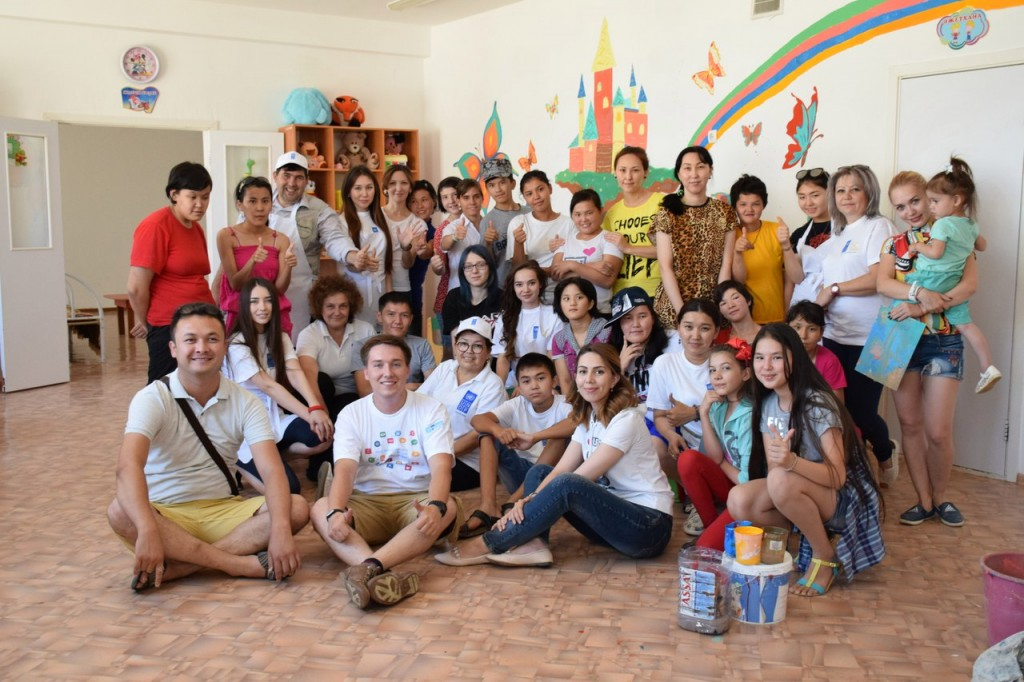 Team of Kyzylorda volunteers