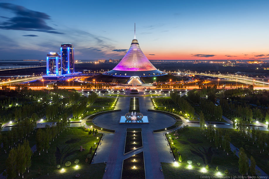 3 Astana night life during EXPO summer trip