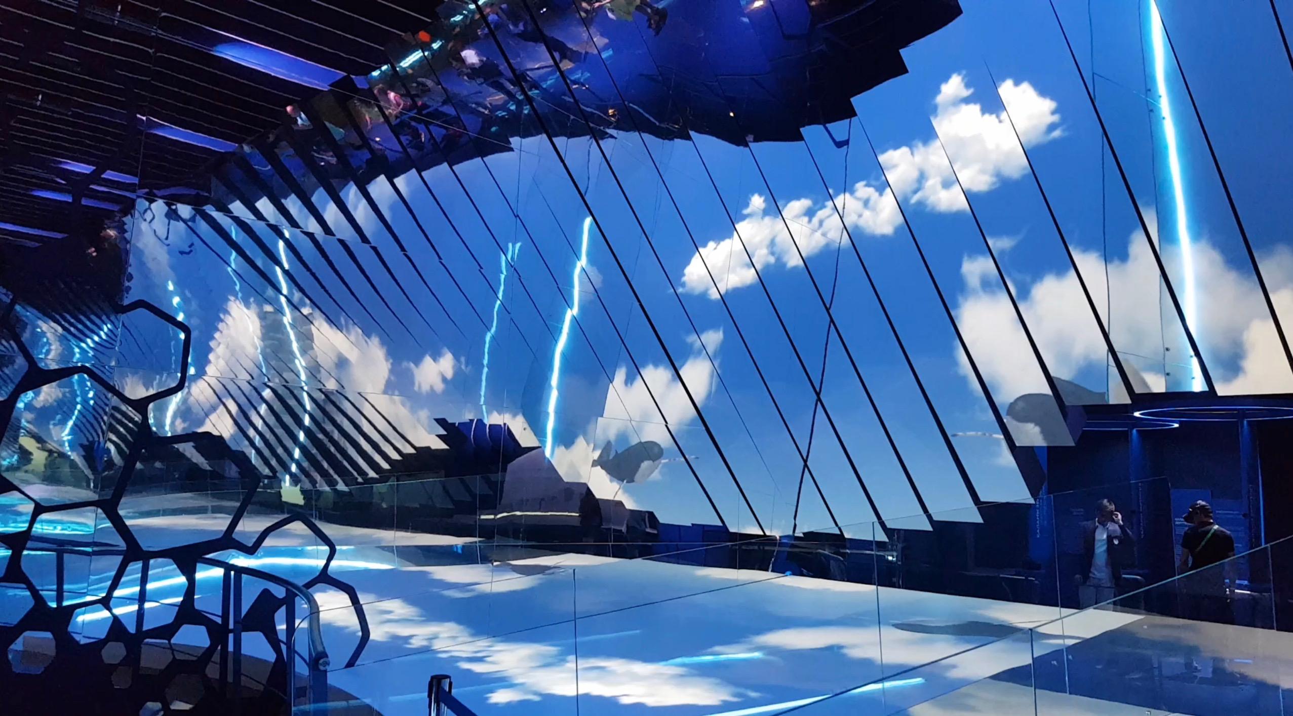 Monaco Pavilion Mirroring The Future Astonishes Crowds
