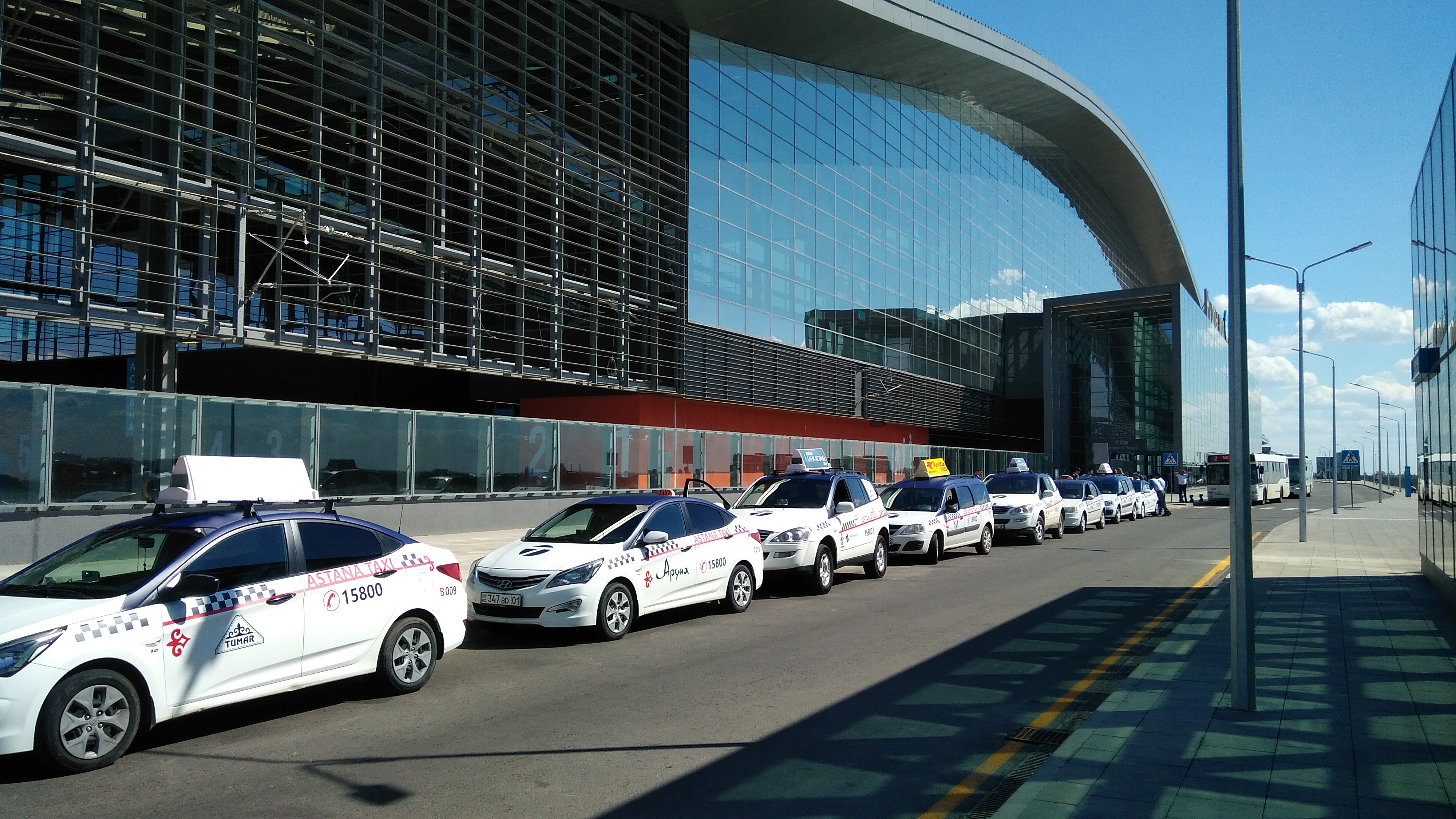 Astana Taxi Launches At New Nurly Zhol Train Station The