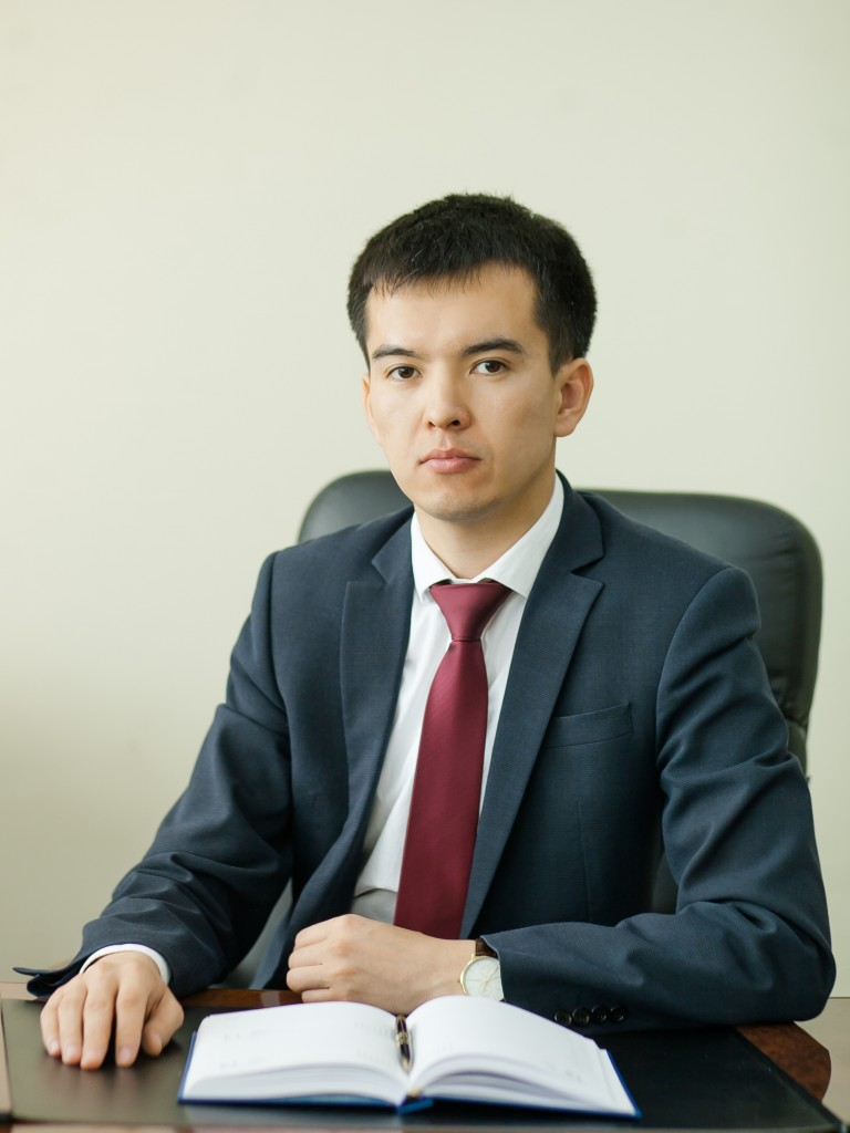 Yerbol Ospanov.