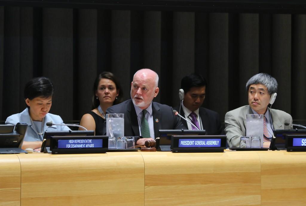 UNGA President Peter Thomson