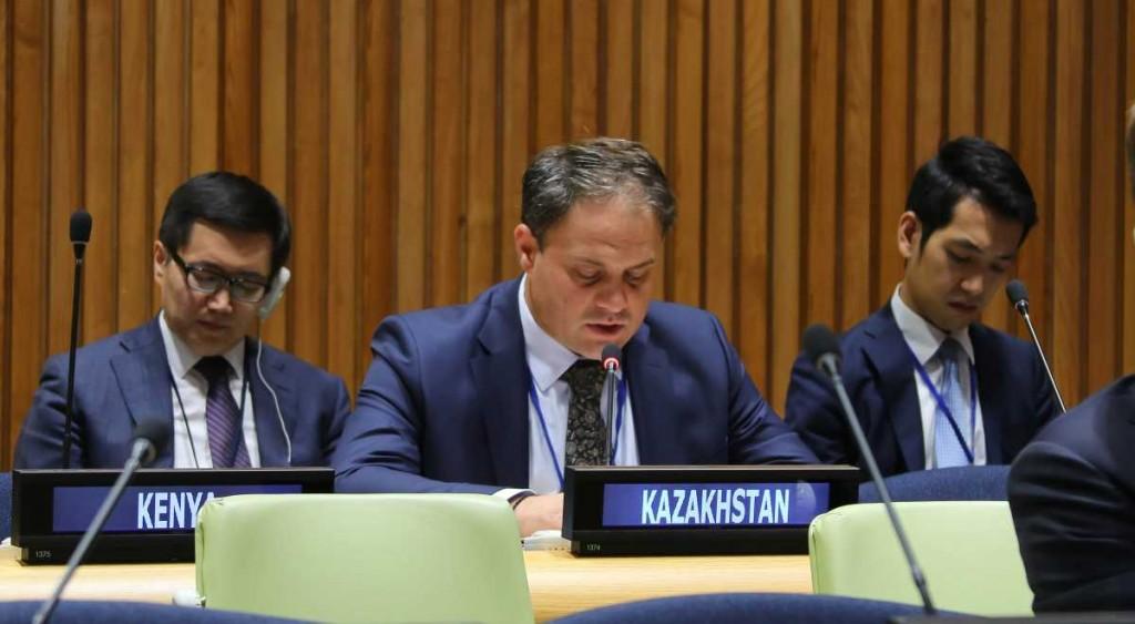 Deputy Foreign Minister Roman Vassilenko
