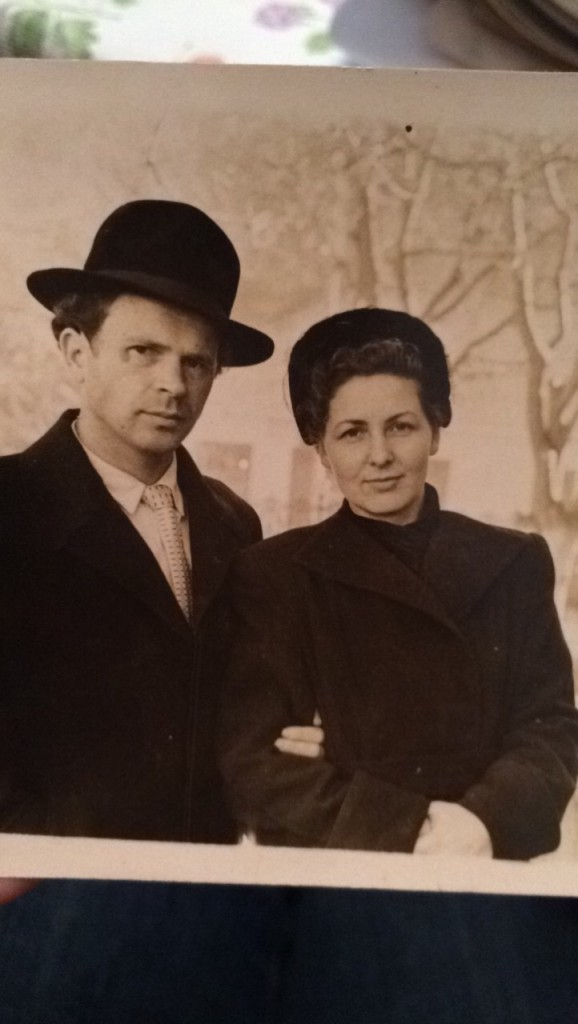Vera Swanson's grandparents Gennady and Vera