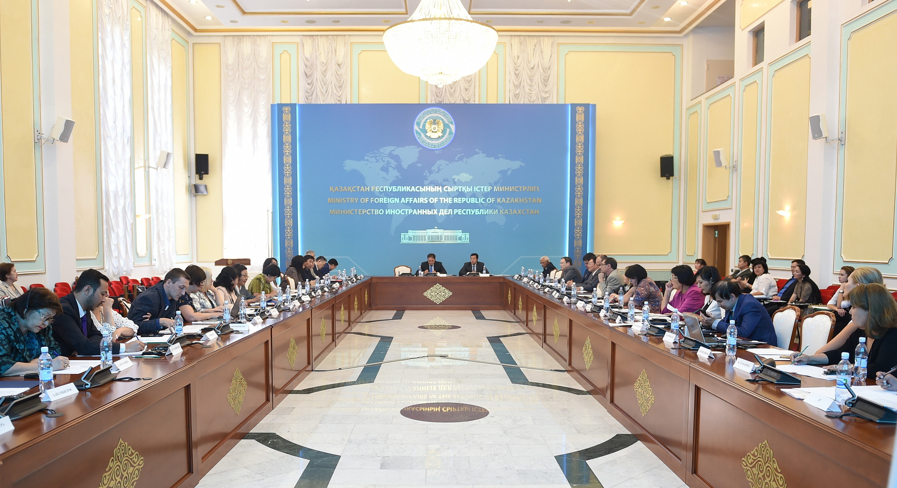 NGOs and government discuss civil issues at Kazakh MFA - The Astana