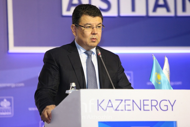 Kanat Bozumbayev. Photo credit: inform.kz