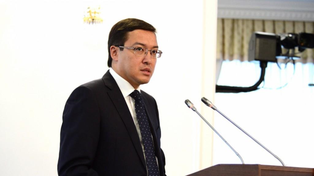 Daniyar Akishev. Photo credit: primeminister.kz