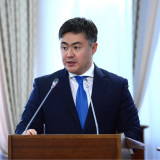 Minister of National Economy Timur Suleimenov.