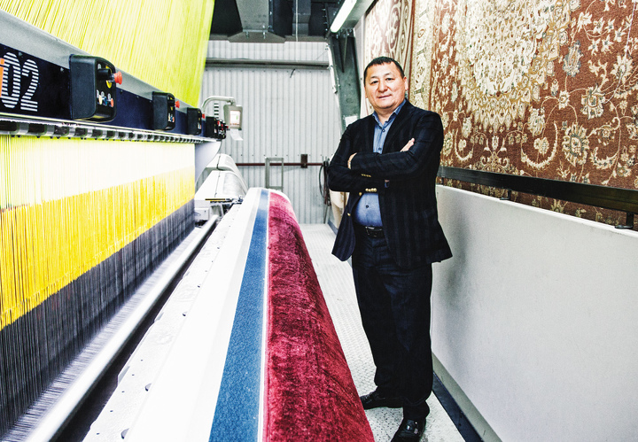 Bal Tekstil Brings Country S Carpet Industry To