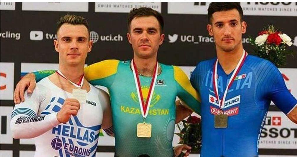 From L to R: Christos Volikakis, Nikita Panassenko, Liam Bertazzo