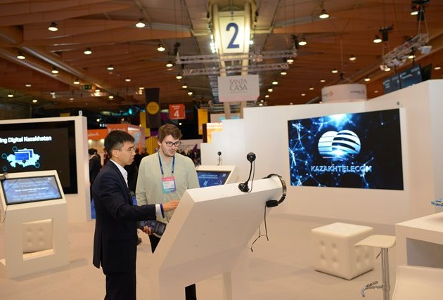 Kazakhtelecom presents its products at the conference exhibition