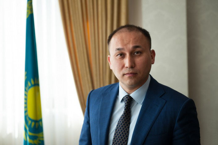 Kazakh Minister of Information and Communications Dauren Abayev.