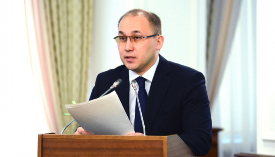 Minister of Information and Communications Dauren Abayev