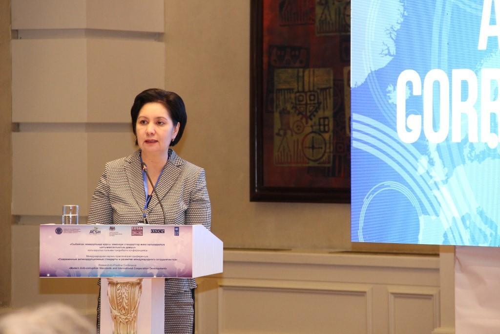State Secretary Gulshara Abdykalikova