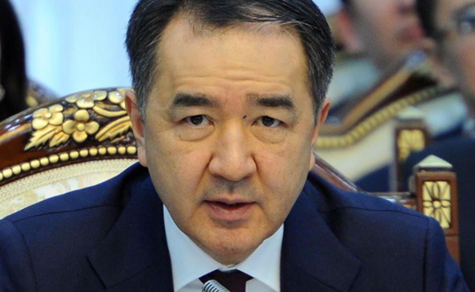 Kazakh Prime Minister Bakytzhan Sagintayev