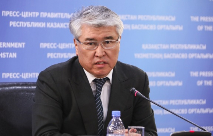Minister of Culture and Sports Arystanbek Mukhamediuly.