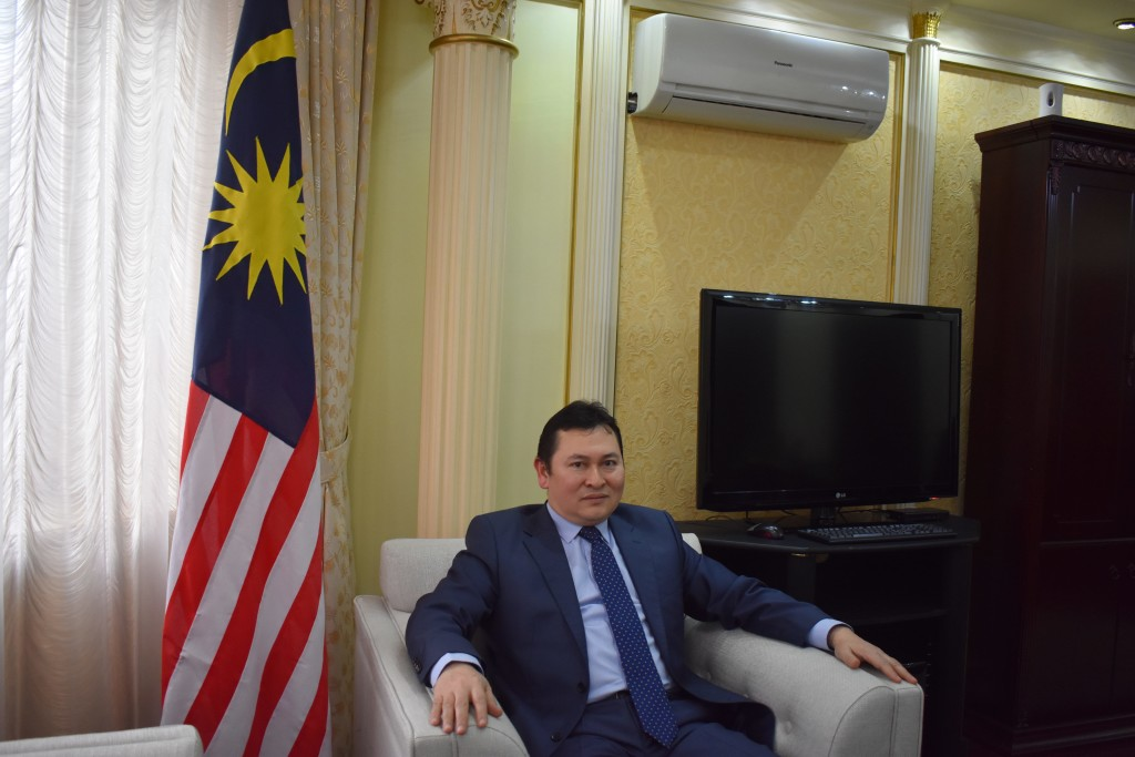 Malaysian Ambassador to Kazakhstan Syed Mohamad Bakri
