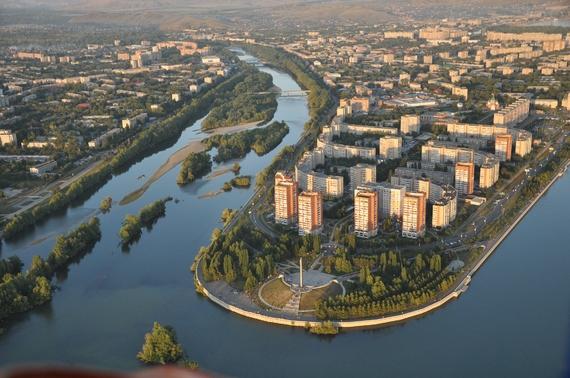 Strelka. Photo credit: oskemen.gov.kz